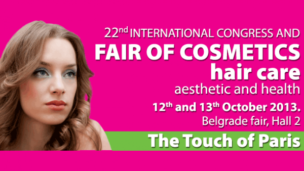 Dodir Pariza - fair of cosmetics Belgrade 2013